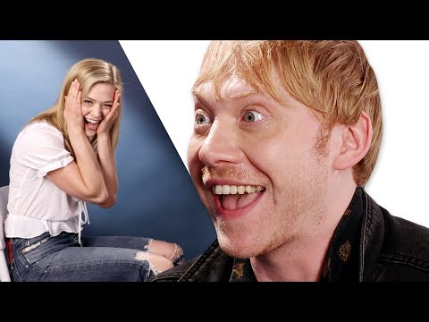 Surprise Staring Contest With Rupert Grint