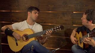 Duo Deloro play 'Dahab' by Adam Del Monte | Altamira Guitars