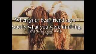 I never wanna loos a friend like you Friendship Song the best ...