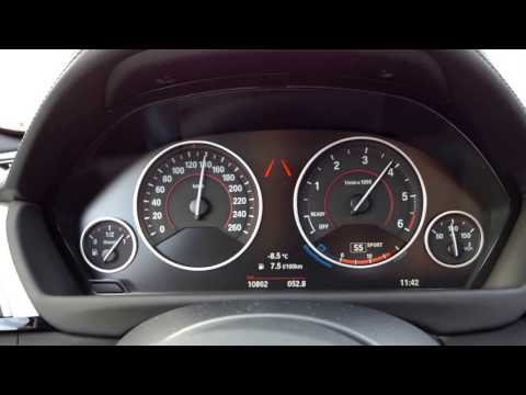 BMW 335d xDrive Touring 0-100 km/h