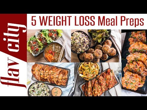 5 Meal Prep Recipes For Weight Loss In 2019 - Healthy New Year's Resolutions