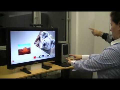 Hacked Kinect Controls Windows 7