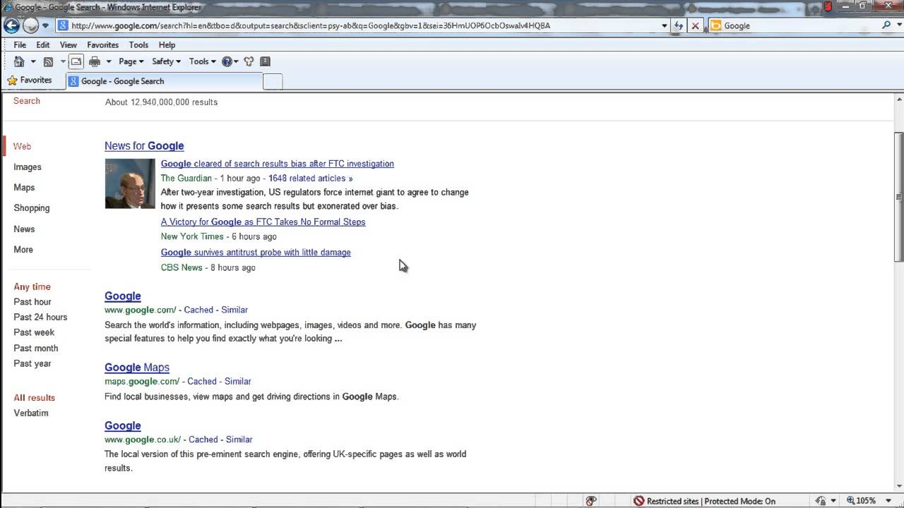 How to Zoom in Internet Explorer - YouTube