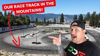 WE GOT A RACE TRACK IN THE MOUNTAINS! *DDE SLAYGROUND*