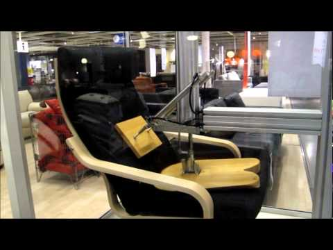 ikea chair durability test youtube. Black Bedroom Furniture Sets. Home Design Ideas