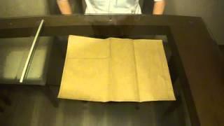Desenho Técnico II - Como dobrar uma fo...
