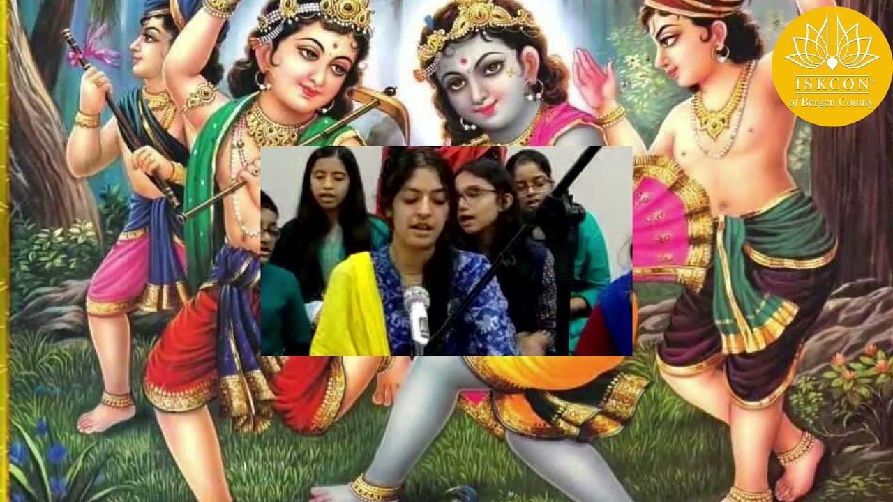Krishna Jinka Naam Hai Bhajan - Sunday School