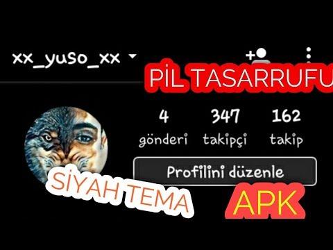 Download İnstagram Plus Sİyah Tema Apk İndİr MP3, MKV, MP4