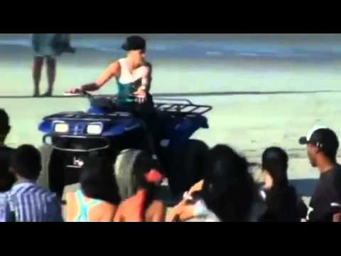 Justin Bieber family and Friends in Panama