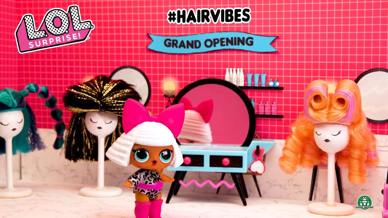 L.O.L Surprise / #Hairvibes / Stop Motion / Giochi France