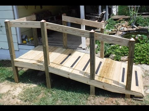 How To Build a Handicap Ramp When you are Not a Carpenter