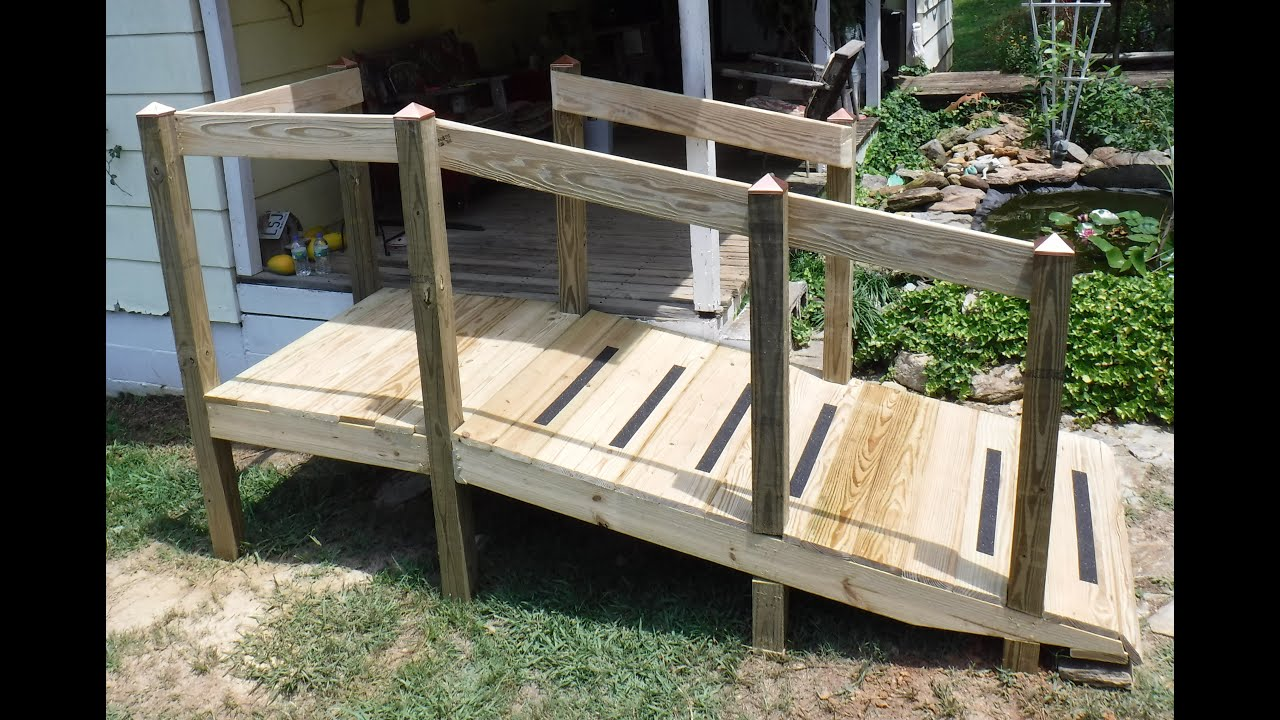 How To Build A Handicap Ramp When You Are Not Carpenter