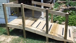 Video How To Build a Handicap Ramp When you are Not a Carpenter download MP3, 3GP, MP4, WEBM, AVI, FLV Desember 2017
