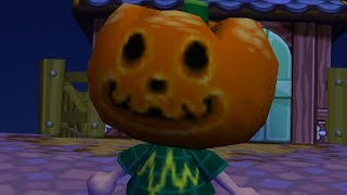 Trying to ruin Halloween in Animal Crossing