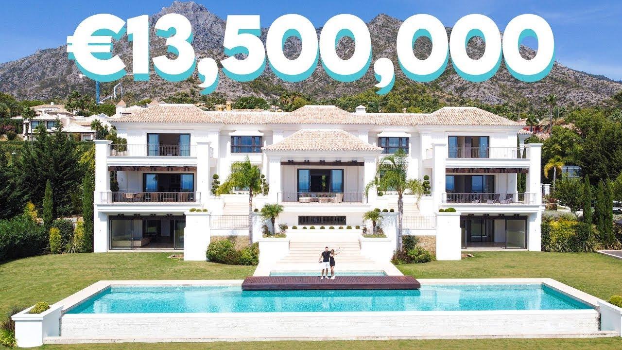 INSIDE A €13,500,000 LUXURY MARBELLA VILLA *INSANE UNDERGROUND FLOOR*