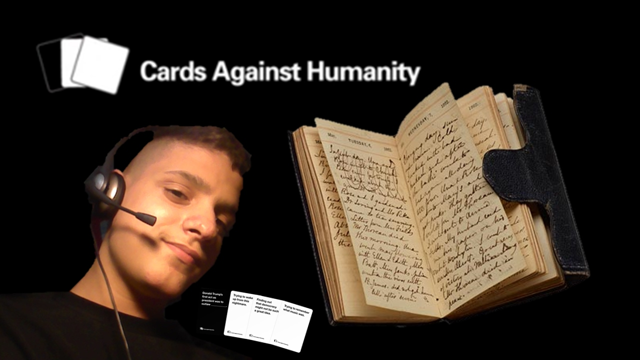 Image of: Coub Anne Franks Diary Cards Against Humanity Youtube Anne Franks Diary Cards Against Humanity Youtube