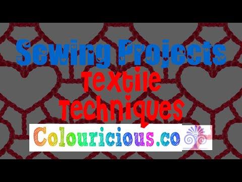 Textile Techniques - Textile crafts with textile artist Marilyn Pipe - Jamie Malden