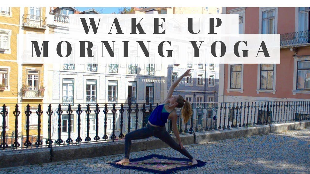 Energizing Morning Vinyasa   Yoga Flow