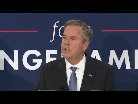 Jeb Bush suspends presidential campaign