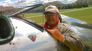 """""""Captain"""" Chuck Downey - Poplar Grove Vintage Wings and Wheels Museum - Boone County Oral History"""