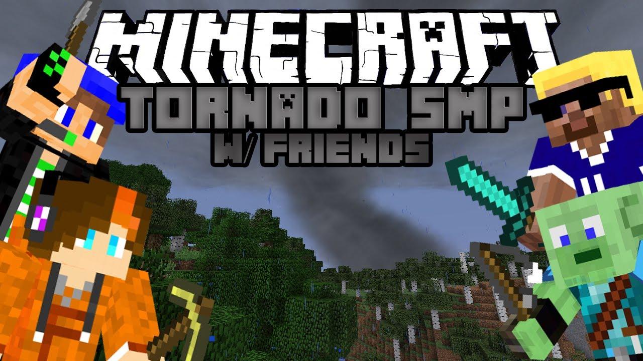 SOLID START Minecraft Tornado Survival Multiplayer #1 w