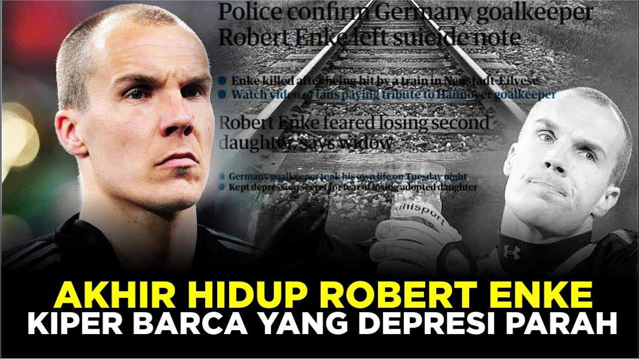 KISAH ROBERT ENKE : Kiper Barcelona Yang Alami Depresi Parah