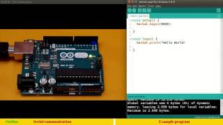 12. Arduino: Basics of RS232 serial communication
