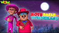 MOTU PATLU In Wonderland  BEST movies of MOTU PATLU    Funny movies for KIDS