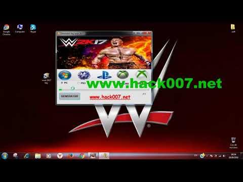WWE 2K17 serial key generator key