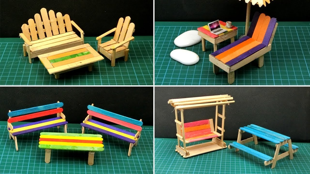 8 Easy Popsicle Stick Crafts