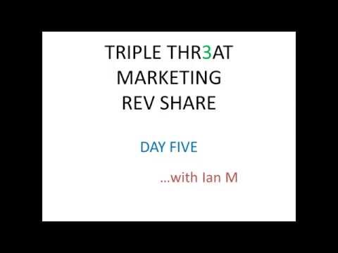 Triple Threat Rev Share Day 5 Strategy Review Proof 2015 Ian Michaels
