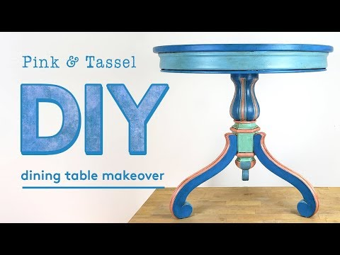 DIY Furniture Makeover: Dining Table