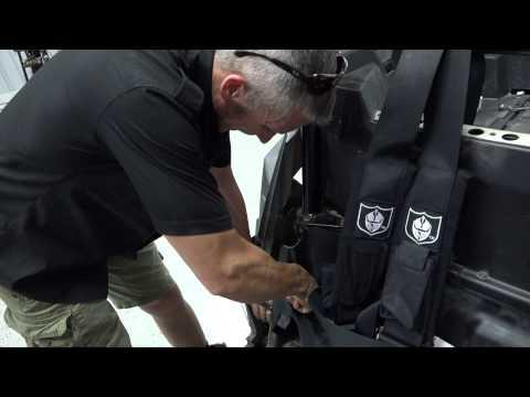 "Proarmor 5 Point 3"" Harness Install on  Polaris RZR XP 900/1000"