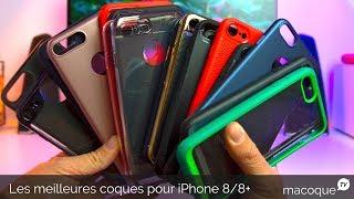 LES MEILLEURES COQUES POUR IPHONE 8 & 8 PLUS