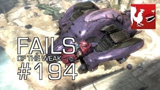 Fails of the Weak - Funny Halo Bloopers and Screw Ups! - Volume 194