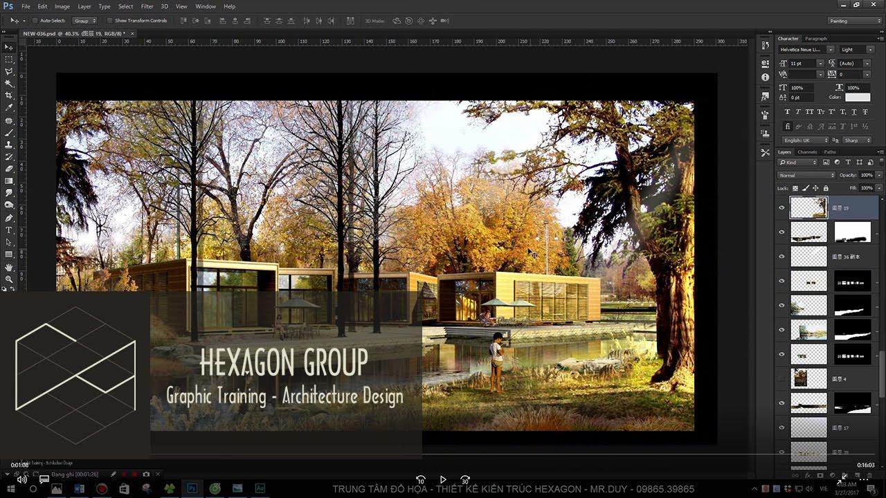 Phần 1.3: Làm chủ Layer trong Photoshop