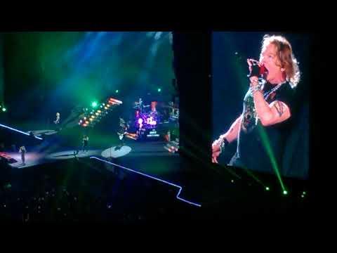 São Paulo Trip   26/09/17 - Guns N Roses - Welcome To The Jungle