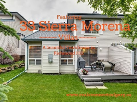 Townhouse for Sale Southwest Calgary - 33 Sierra Morena Villas SW