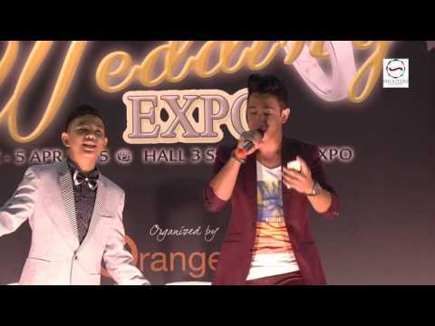 Singapore Expo 2015 Tegar Septian & Sufie Rashid - Aku Yang Dulu Bukanlah Yang Sekarang