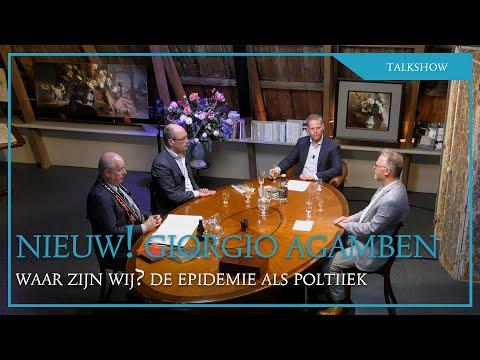 MEDIAPANEL, DEEL 2. Henk-Jan, Oscar en Erik lanceren en bespreken nieuwe boek Giorgio Agamben