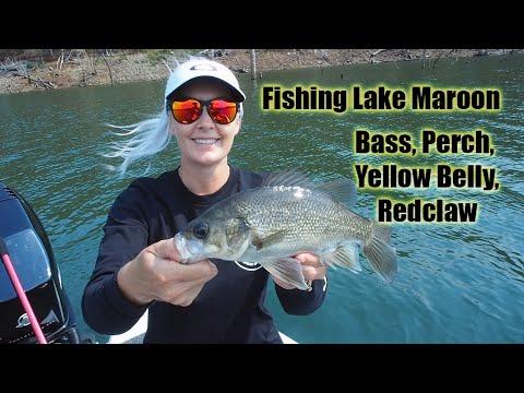 Fishing At Lake Maroon