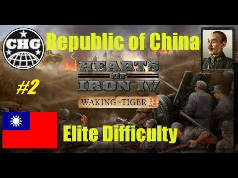 HOI4: Waking The Tiger - China #2 - Not an inch back