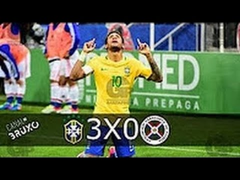 Download Brasil vs Paraguai  3-0 All Goals Highlights (World Cup Qualification ) 29/3/2017