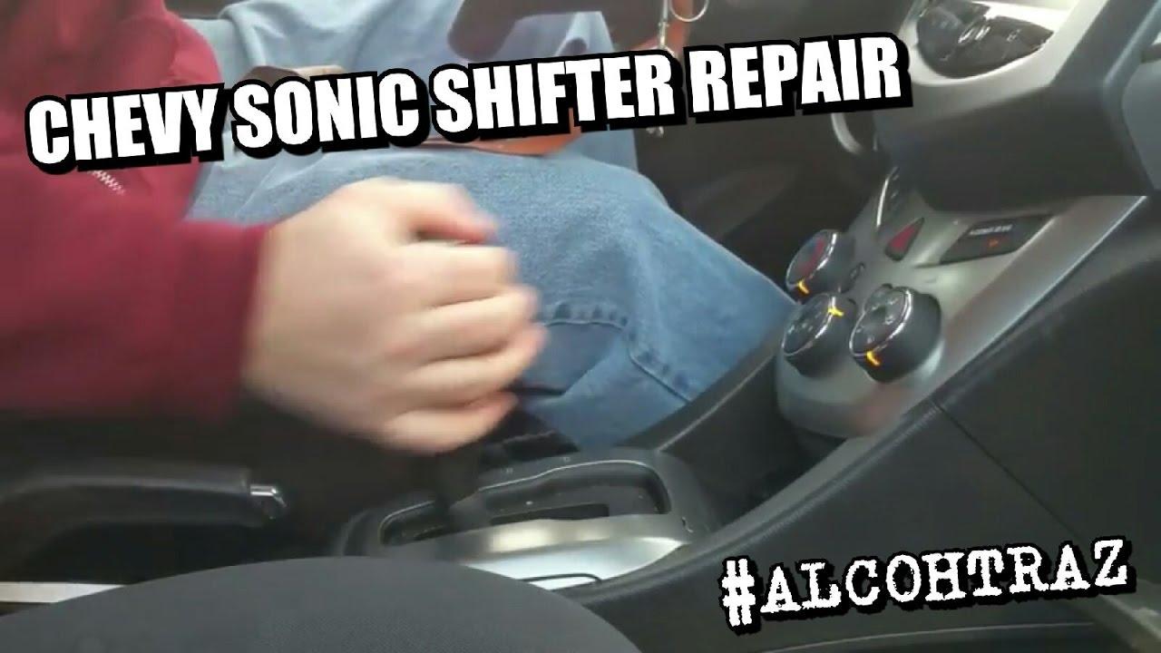Chevy Sonic Gear Shifter Button Repair Kit 42423234 Install Stick Shift Diagram