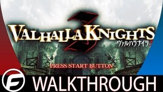 Valhalla Knights 3 PS Vita Walkthrough Part 1