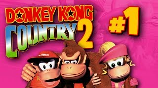 Donkey Kong Country 2 - Part 1 - Kiddy