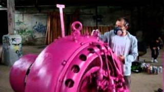 baby pop art toys industriel