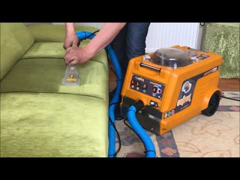 PROFESSIONAL SOFA CLEANING MACHINE - LITTLE BUT VERY STRONG