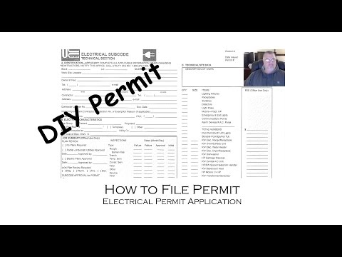 How to Apply and File an Electrical Permit for Do It Yourself DIY Home Improvements