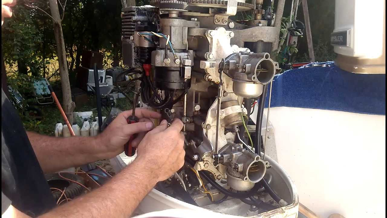 medium resolution of chrysler outboard throttle linkage adjustments